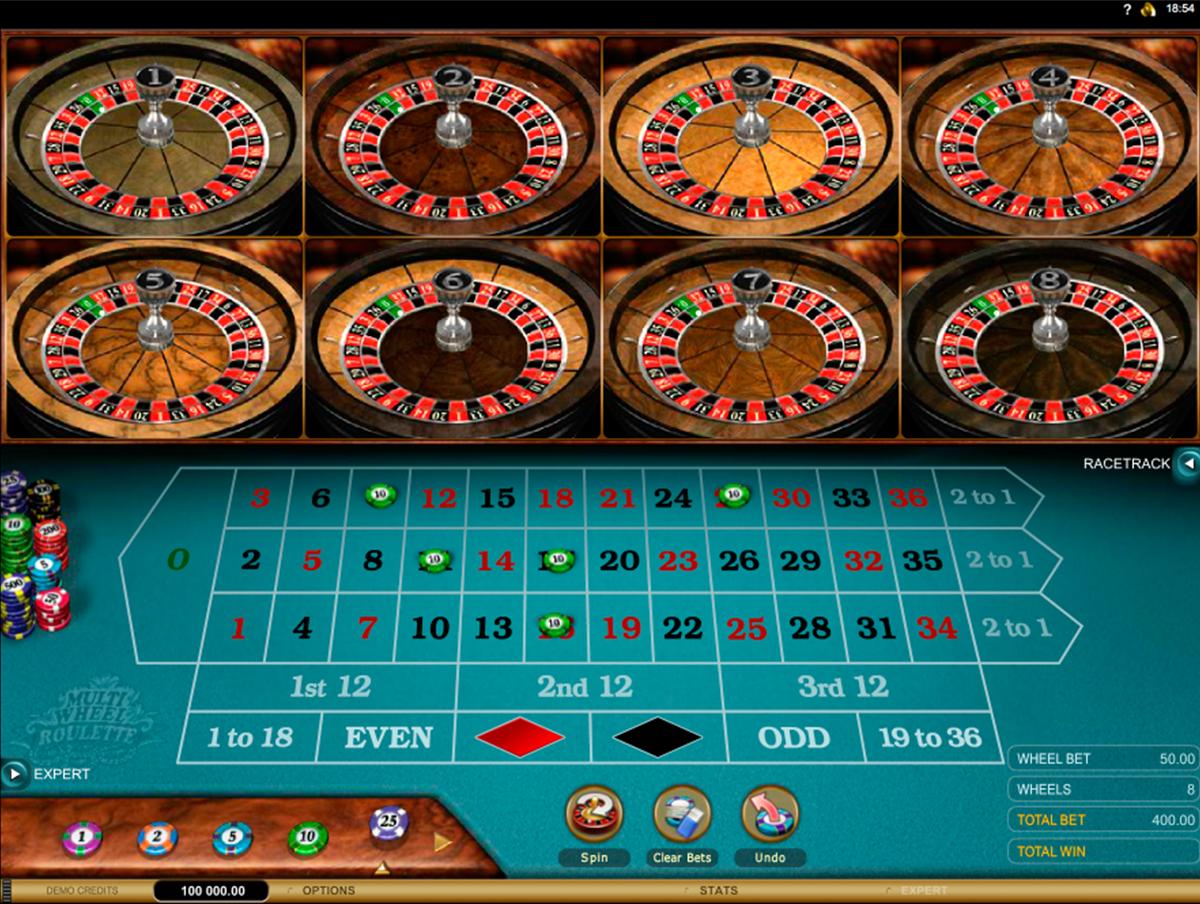 Multiwheel Online Roulette