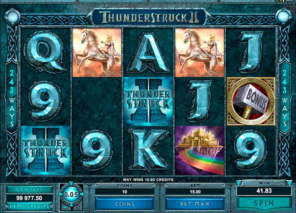 Free Slots Thunderstruck 2